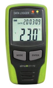 Elma DT172 USB datalogger m. display